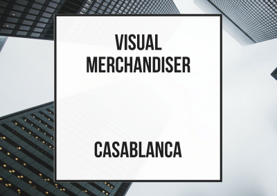 Head Visual Merchandiser Indoor Tienda Piloto