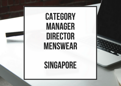 Category Director Menswear