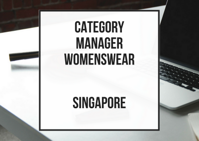 Category Manager Womenswear
