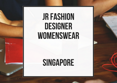 Junior Fashion Designer Womenswear
