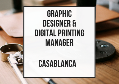 Graphic Technical Designer and Printing Manager