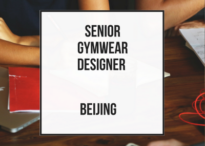 Senior Designer Gym Wear
