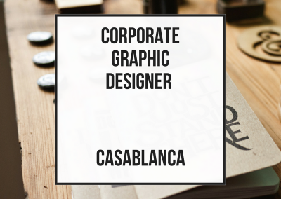 Corporate Graphic Designer