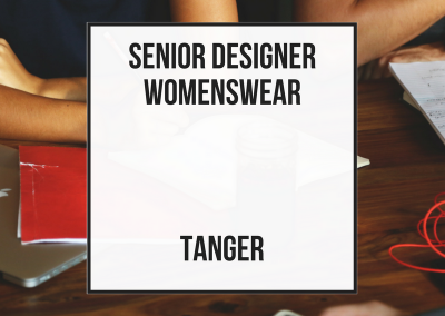 Senior Designer Womenswear