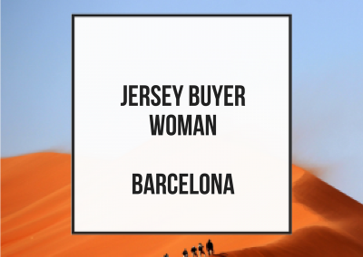 Jersey Buyer Woman – Barcelona