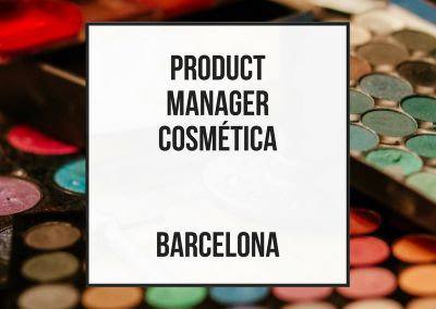 Cosmetic Product Manager – Barcelona