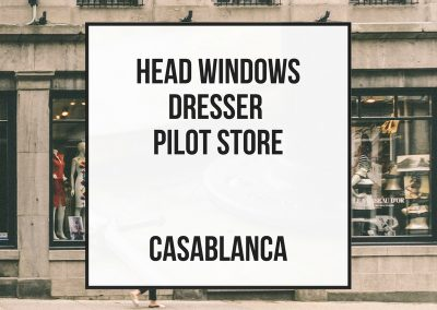 Head Windows Dresser – Pilot Store – Casablanca