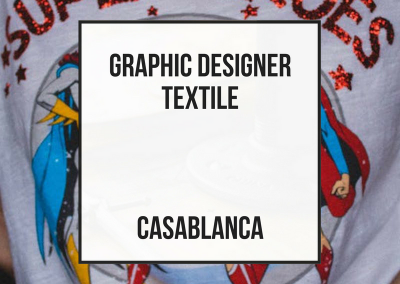 Junior Graphic Designer – Casablanca