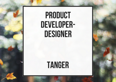 Product Developer/Designer – Tanger
