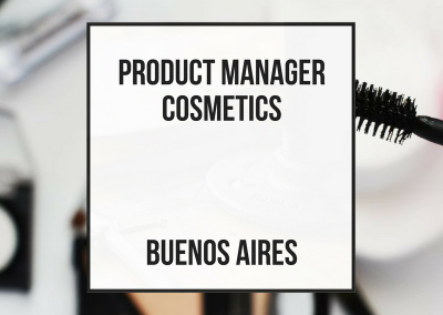 Product Manager Cosmetica – Buenos Aires