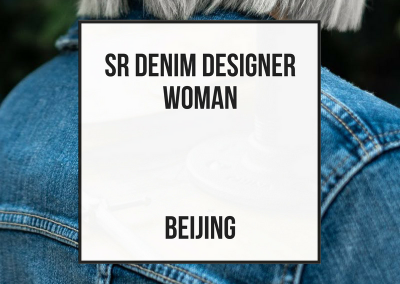 Senior Denim Designer Womenswear – Beijing