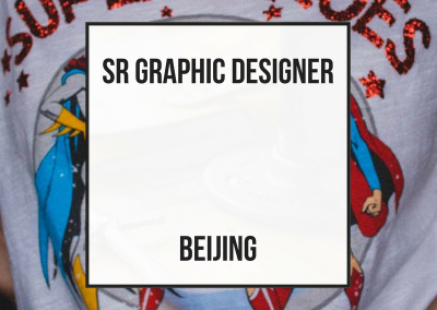 Sr Graphic Designer Young Woman – Beijing