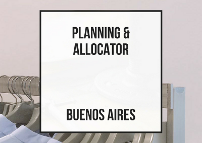 Planning and Allocator Manager – Buenos Aires, Argentina