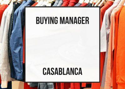 Jefe de Compras – Casablanca