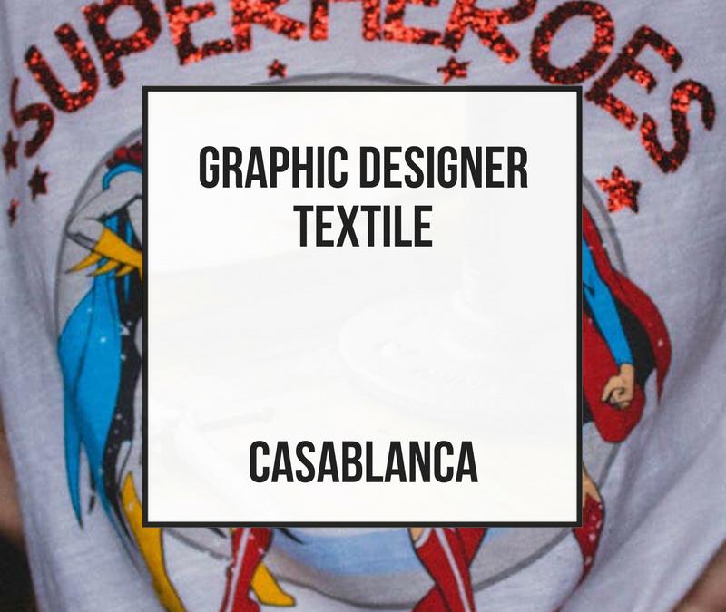 Diseñador Gráfico Textil – Casablanca