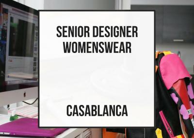 Diseñador Senior – Casablanca