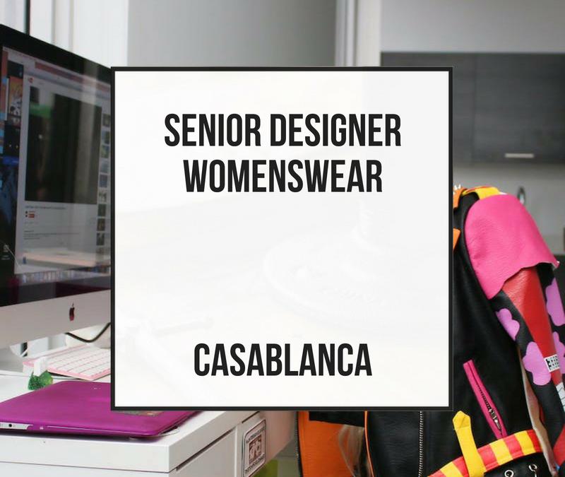 Senior Designer – Casablanca
