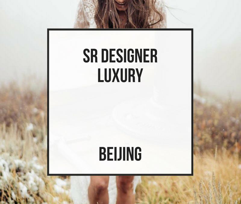 Diseñador Senior Luxury – Beijing
