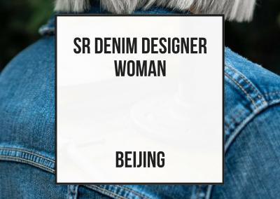 Diseñador Senior Denim Mujer – Beijing
