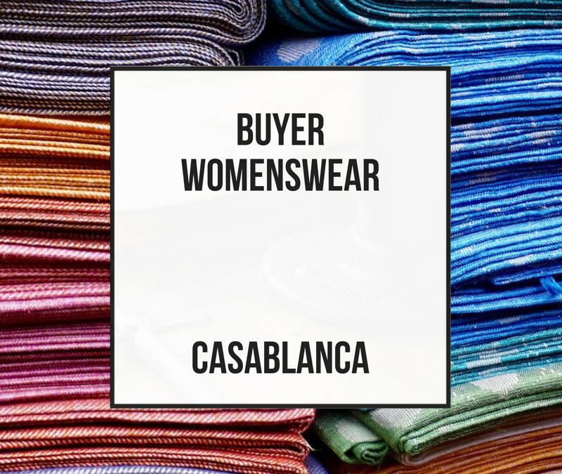 Comprador Mujer – Casablanca