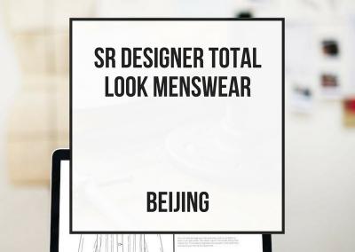 Diseñador Senior Total Look Caballero – Beijing
