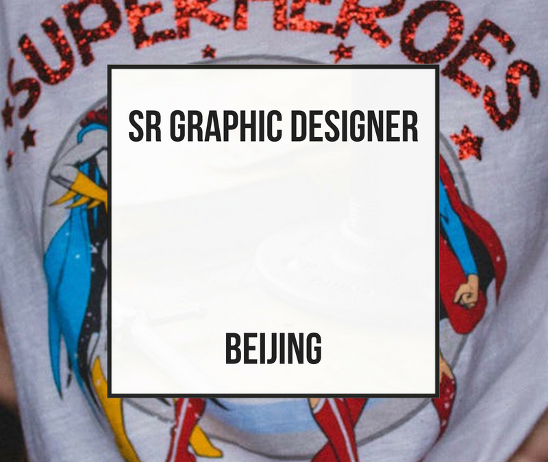 Sr Graphic Designer Young Woman – Beijing