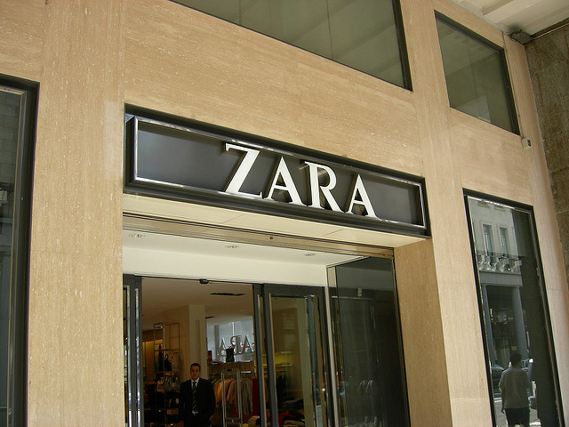 Zara saca nueva linea de ropa