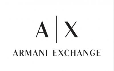 The new logo of Giorgio Armani