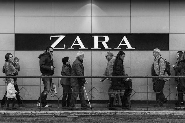 Zara continues to grow on the internet