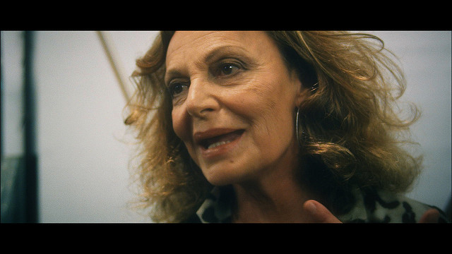 No more skins for Diane Von Furstenberg.