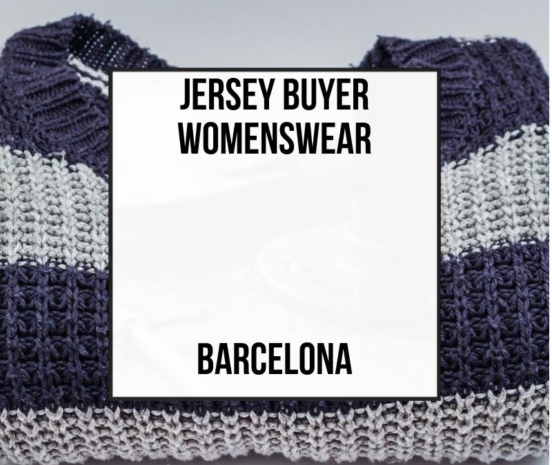 Jersey Buyer Womenswear – Barcelona